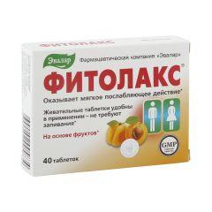 Фитолакс таб. 0,5г №40