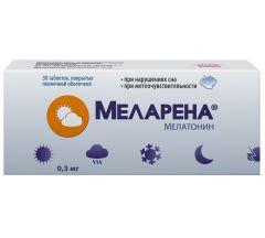 Меларена таб.п/о плен. 0,3мг №30