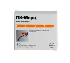 ПК-Мерц таб.п/о 100мг №30