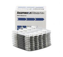 Акатинол Мемантин таб.п/о 10мг №90