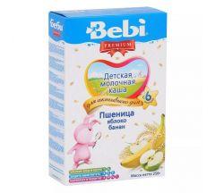 Беби каша молочная Премиум пшеница/яблоко/банан от 5мес. 250г 02107