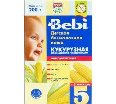 Беби каша безмолочная низкоаллергенная кукуруза/пребиотики от 5мес. 200г