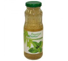 Азбука Здоровья сок березовый с сахаром настоенный на мяте стерилизованный 250мл