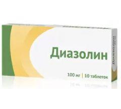 Диазолин таб. 100мг №10