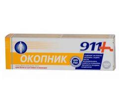 911 Окопник при боли в суставах/мышцах растирка 150мл